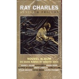 RAY CHARLES PLAQUETTE GENIUS & FRIENDS