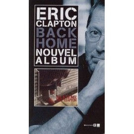 ERIC CLAPTON PLAQUETTE BACK HOME
