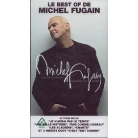 MICHEL FUGAIN PLAQUETTE PLV LE BEST OF