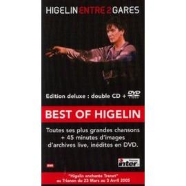 JACQUES HIGELIN PLAQUETTE PLV ENTRE 2 GARES
