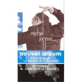 MICHEL JONASZ PLAQUETTE PLV NOUVEL ALBUM