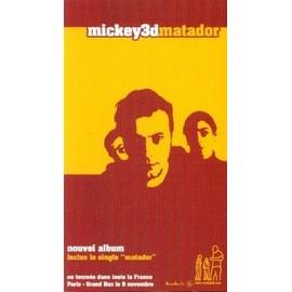 MICKEY 3D PLAQUETTE PLV MATADOR