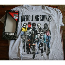 THE ROLLING STONES / Mick JAGGER T Shirt - Taille XL
