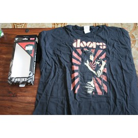 THE DOORS / Jim MORRISON T Shrit noir Taille XL