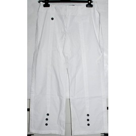 Pantalon One Step - T.36 - Blanc - Mati�re L�g�re Et Fluide