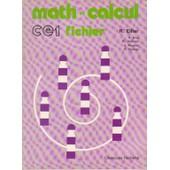 Math Et Calcul Ce1 - Fichier de robert eiller