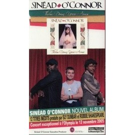 SINEAD O'CONNOR' PLAQUETTE PLV THROW DOWN YOUR ARMS