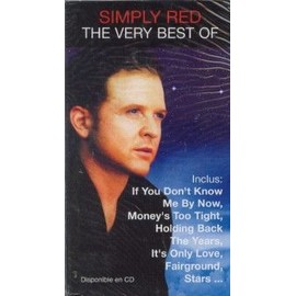 SIMPLY RED PLAQUETTE PLV THE VERY BEST OF