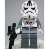 Lego Star Wars Figurine Pilote At At Et Pistolet Blaster - At At Driver Hoth
