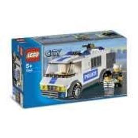 Lego City 7245 Le Fourgon Des Policiers