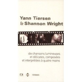 YANN TIERSEN & SHANNON WRIGHT PLAQUETTE PLV 10 CHANSONS LUMINEUSES