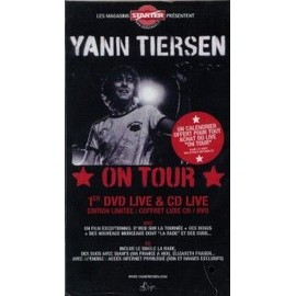 YANN TIERSEN PLAQUETTE PLV ON TOUR