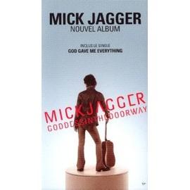 MICK JAGGER PLAQUETTE PLV NOUVEL ALBUM