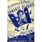 La Romance De Paris/Chant Et Piano de Charles Tr�net