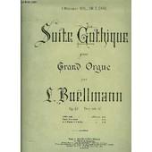 Suite Gothique Pour Grand Orgue de Boellmann L