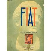 Fiat, Revue Bimestrielle, N� 11, Juillet 1936 de Collectif