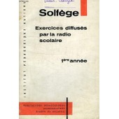 Livret De Solfege, 1re Annee de Collectif