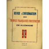 Revue D'information Des Troupes Francaises D'occupation En Allemagne - Numero 37 de Collectif