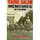 Memoires - Fin D'un Empire, Tomes 1 Et 2 de raoul salan