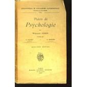 Pr�cis De Psychologie de william james