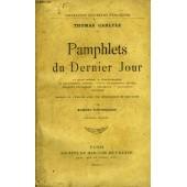 Pamphlets Du Dernier Jour de thomas carlyle
