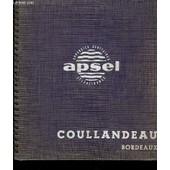 Catalogue Apsel, Appareils Sanitaires S�lectionn�s de Coullandeau Bordeaux