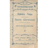 Sainte Nina Surnomm� Sainte Chretienne N�30 de Petite Bibliotheque