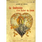 La Confession D'un Enfant Du Siecle de Musset, A. De