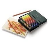 Studio Box En Simili Cuir De 36 Crayons De Couleur Polychromos Faber-Castell