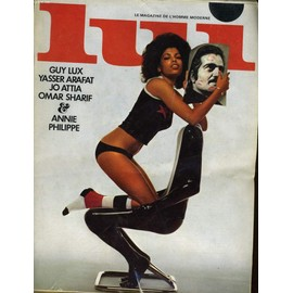 Lui, Le Magazine De L'homme Moderne N� 96 - Guy Lux - Yasser Arafat - Jo Attia - Omar Sharif - Annie Philippe