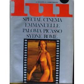 Lui, Le Magazine De L'homme Moderne N� 124 - Special Cinema - Emmanuelle - Paloma Picasso - Sydne Rome