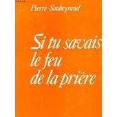 Si Tu Savais Le Feu De La Pierre de Pierre Soubeyrand