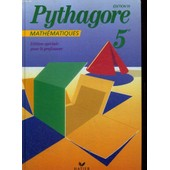 Mathematiques 5eme - Livre Du Ma�tre, Edition 1991 de G�rard Bonnefond