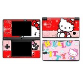 Skin Sticker Nintendo Dsi Hello Kitty