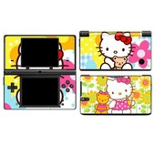 Skin Sticker Nintendo Dsi Hello Kitty 2