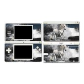 Skin Sticker Nintendo Ds Lite - Cheval Blanc