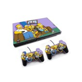 Skin Sticker Sony Ps2 + 2 Manettes - Les Simpsons Family