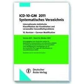 ICD-10-GM 2011 Systematisches Verzeichnis