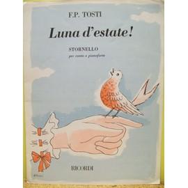 Luna d'estate! pour chant & piano