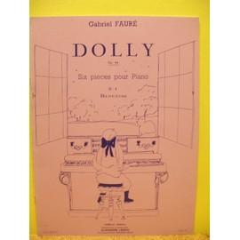 """Fauré:""""Dolly"""" op.56 pour piano """"berceuse"""""""