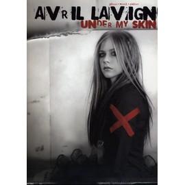Avril lavigne under my skin - pianon-vocal - guitare