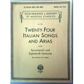 24 Italian Songs And Arias - 24 Airs Italiens