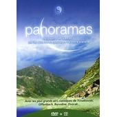 Panoramas - Relaxation Et Bien-�tre Par Les Plus Beaux Paysages De Notre Plan�te - + 1 Cd Audio de Thierry Wolf