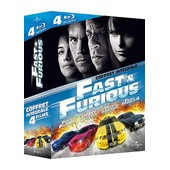 Fast And Furious - Int�grale 4 Films - Blu-Ray de Rob Cohen