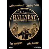 Johnny Hallyday - Ses Premiers Pas Au Cin�ma : Les Parisiennes + Cherchez L'idole + Les Poneyttes + � Tout Casser - Pack de Marc All�gret