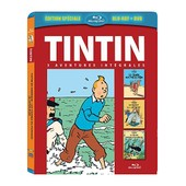 Tintin - 3 Aventures - Vol. 3 : Le Secret De La Licorne + Le Tr�sor De Rackham Le Rouge + Le Crabe Aux Pinces D'or - Combo Blu-Ray+ Dvd de St�phane Bernasconi