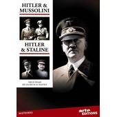 Hitler & Mussolini / Hitler & Staline de Ullrich H. Kasten