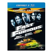 Fast And Furious - Coffret Trilogie : Fast And Furious + 2 Fast 2 Furious + Fast & Furious : Tokyo Drift - Blu-Ray de Rob Cohen