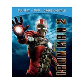 Iron Man 2 - Combo Blu-Ray+ Dvd + Copie Digitale de Jon Favreau
