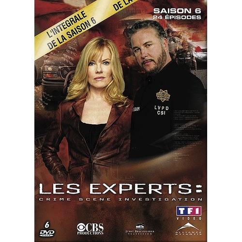 Sony Picture Sony Picture Dvd Les experts Las Vegas. saison 6